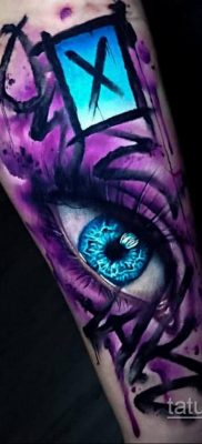 Фото татуировки аниме ко дню аниме 11.04.2020 №139 -anime tattoo- tatufoto.com