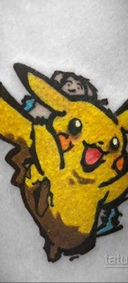 Фото татуировки аниме ко дню аниме 11.04.2020 №161 -anime tattoo- tatufoto.com