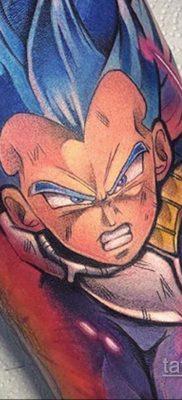 Фото татуировки аниме ко дню аниме 11.04.2020 №174 -anime tattoo- tatufoto.com