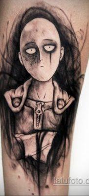 Фото татуировки аниме ко дню аниме 11.04.2020 №219 -anime tattoo- tatufoto.com