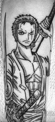 Фото татуировки аниме ко дню аниме 11.04.2020 №225 -anime tattoo- tatufoto.com