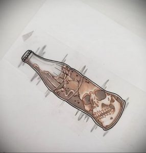 Фото тату газировка (содовая) 23.04.2020 №052 -tattoo soda- tatufoto.com