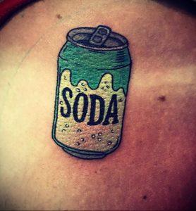 Фото тату газировка (содовая) 23.04.2020 №062 -tattoo soda- tatufoto.com
