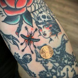 Фото тату комар 25.04.2020 №037 -mosquito tattoo- tatufoto.com
