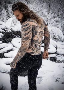 Фото тату модели Кевин Крикман (@thecreekman) 23.04.2020 №002 -tattoo- tatufoto.com