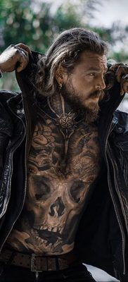 Фото тату модели Кевин Крикман (@thecreekman) 23.04.2020 №013 -tattoo- tatufoto.com