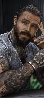 Фото тату модели Кевин Крикман (@thecreekman) 23.04.2020 №014 -tattoo- tatufoto.com