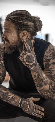 Фото тату модели Кевин Крикман (@thecreekman) 23.04.2020 №015 -tattoo- tatufoto.com