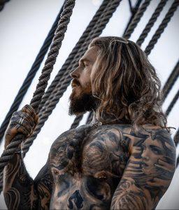 Фото тату модели Кевин Крикман (@thecreekman) 23.04.2020 №021 -tattoo- tatufoto.com