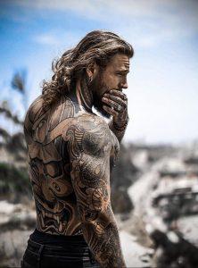 Фото тату модели Кевин Крикман (@thecreekman) 23.04.2020 №024 -tattoo- tatufoto.com