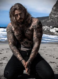 Фото тату модели Кевин Крикман (@thecreekman) 23.04.2020 №027 -tattoo- tatufoto.com