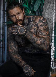 Фото тату модели Кевин Крикман (@thecreekman) 23.04.2020 №041 -tattoo- tatufoto.com