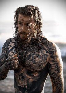 Фото тату модели Кевин Крикман (@thecreekman) 23.04.2020 №054 -tattoo- tatufoto.com
