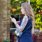 Татуировка с портретом в рукаве на левой руке девушки - - Уличная татуировка (Street tattoo) № 03 – 11.05.2020 для tatufoto.com 4