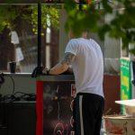 Татуировка с розой и надписями от плеча до локтя парня – 09.05.2020 - Уличная татуировка (Street tattoo) – tatufoto.com 1