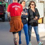 Татуировка с сотами внизу правой ноги парня - Уличная татуировка (Street tattoo) № 03 – 11.05.2020 для tatufoto.com 5