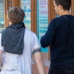 Тату браслет на бицепсе в стиле блекворк с узорами белым - Уличная татуировка (Street tattoo) № 03 – 11.05.2020 для tatufoto.com 4