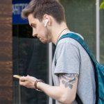 Тату с розой на руке парня ниже плеча - Уличная татуировка (Street tattoo) № 03 – 11.05.2020 для tatufoto.com 3