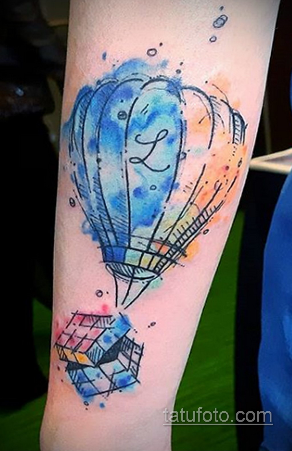 Фото Татуировки с Кубиком Рубика 16.05.2020 №039 -Rubik Cube Tattoo- tatufoto.com