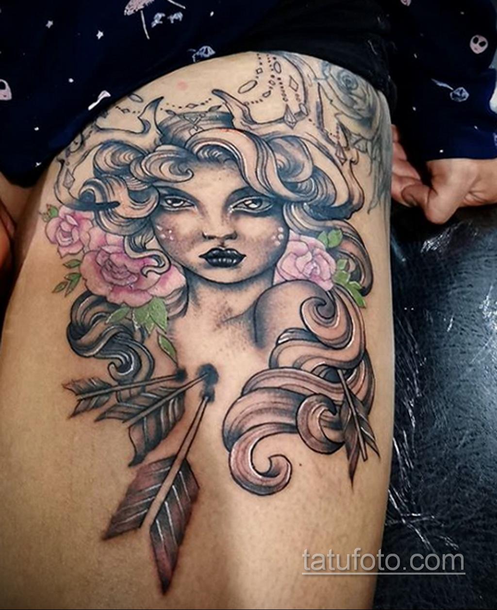 Фото классного рисунка татуировки 18.05.2020 №052 -cool tattoo- tatufoto.com