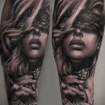 Фото классного рисунка татуировки 23.05.2020 №020 -cool tattoo- tatufoto.com
