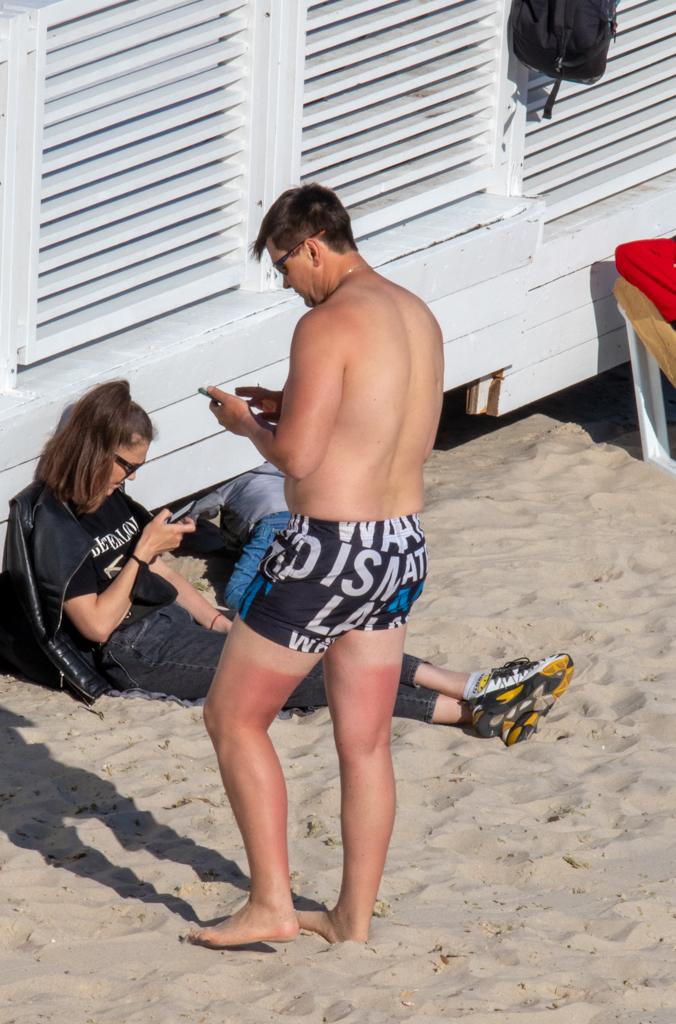 Фото людей на пляже у моря 11 мая 2020 - - Уличная татуировка (Street tattoo) № 03 – 11.05.2020 для tatufoto.com 1