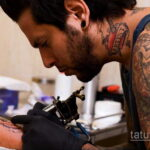 Фото пример как делаются татуировки 31.05.2020 №4004 - tattoo- tatufoto.com