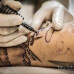 Фото пример как делаются татуировки 31.05.2020 №4011 - tattoo- tatufoto.com