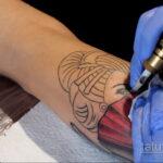 Фото пример как делаются татуировки 31.05.2020 №4012 - tattoo- tatufoto.com