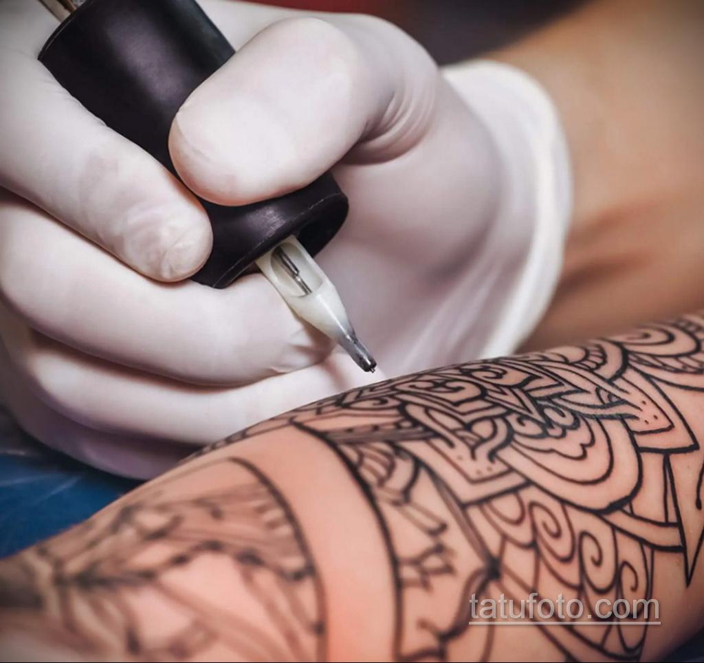 Фото пример как делаются татуировки 31.05.2020 №4013 - tattoo- tatufoto.com