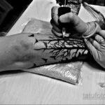 Фото пример как делаются татуировки 31.05.2020 №4016 - tattoo- tatufoto.com