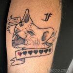 Фото пример оригинального рисунка татуировки 31.05.2020 №4041 - tattoo- tatufoto.com