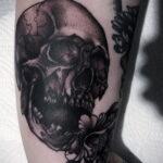 Фото пример оригинального рисунка татуировки 31.05.2020 №4043 - tattoo- tatufoto.com