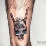 Фото пример оригинального рисунка татуировки 31.05.2020 №4052 - tattoo- tatufoto.com