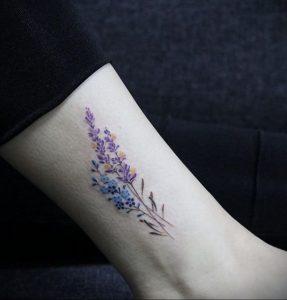 Фото татуировки на тему весны 01.05.2020 №046 -spring tattoo- tatufoto.com