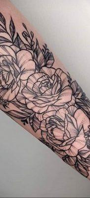 Фото татуировки на тему весны 01.05.2020 №051 -spring tattoo- tatufoto.com