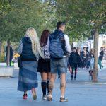Фото тату на ногах парня с черепом и трезубцем – гербом Украины - Уличная татуировка (Street tattoo) 05052020 – tatufoto.com 3