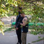 Фото тату с иероглифом на левом плече у парня – 09.05.2020 - Уличная татуировка (Street tattoo) – tatufoto.com 5