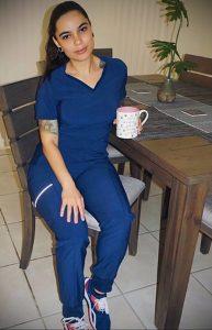 @crysmarie._ – медработник с татуировкой – фото для tatufoto.com 2