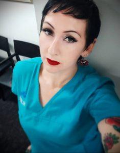 @rosieluscious – медработник с татуировкой – фото для tatufoto.com 12