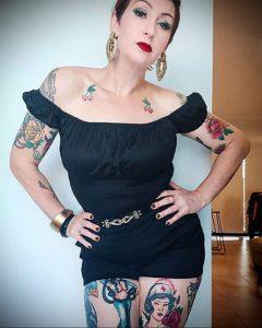 @rosieluscious – медработник с татуировкой – фото для tatufoto.com 4