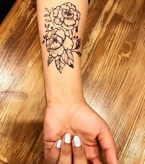 Где сделать татуировку хной - фото 3