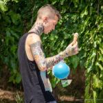 Олдскул тату на теле парня – Уличная татуировка (Street tattoo) № 04 – 12.06.2020 для tatufoto.com 7