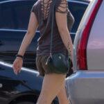 Татуировка со стаей птиц на левой руке девушки – Уличная татуировка (Street tattoo) № 03 – 11.05.2020 для tatufoto.com