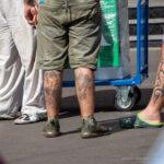 Татуировки на голени у мужчин – Уличная татуировка (Street tattoo) № 04 – 12.06.2020 для tatufoto.com 1