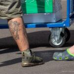 Татуировки на голени у мужчин – Уличная татуировка (Street tattoo) № 04 – 12.06.2020 для tatufoto.com 6
