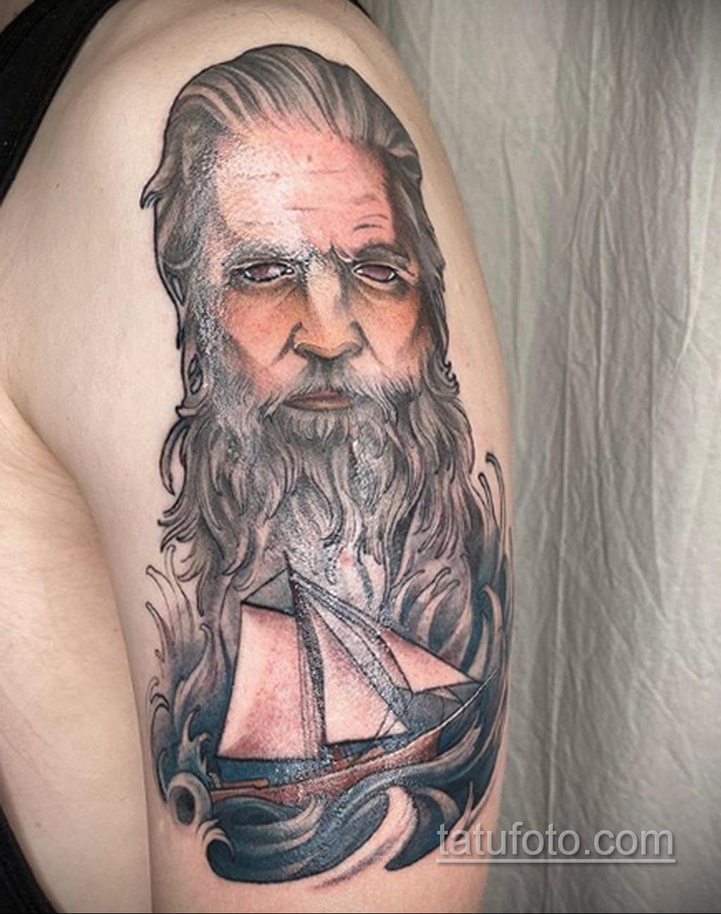 Тату для моряка - морская тематика тату 25.06.2020 №022 -tattoo sailor- tatufoto.com
