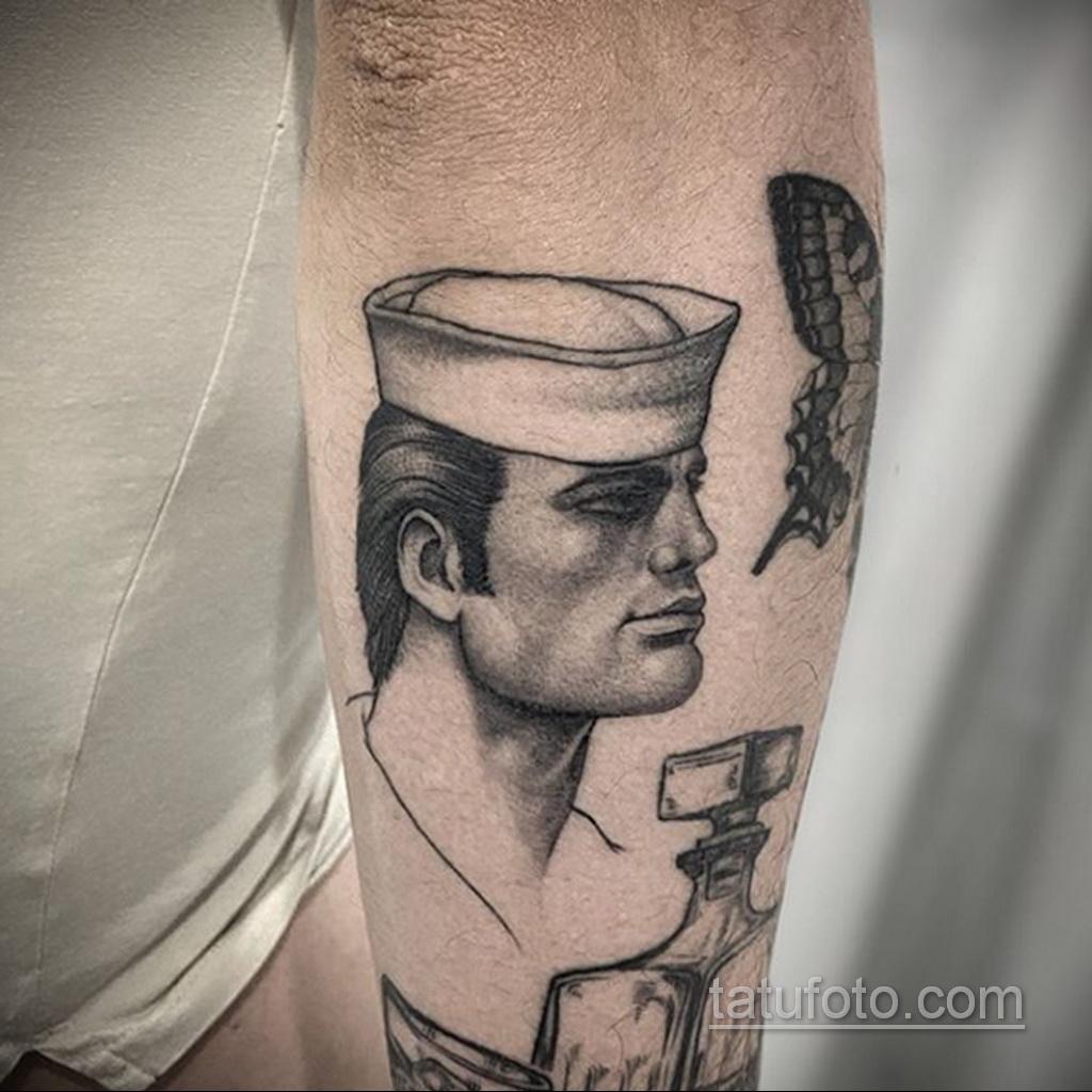 Тату для моряка - морская тематика тату 25.06.2020 №032 -tattoo sailor- tatufoto.com