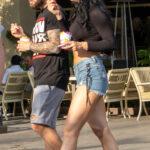 Тату скульптура и часы римскими на руке парня – Уличная татуировка (Street tattoo) № 05 – 15.06.2020 для tatufoto.com 1