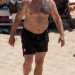 Тату с оборотнем на груди мужчины – Уличная татуировка (Street tattoo) № 04 – 12.06.2020 для tatufoto.com 4